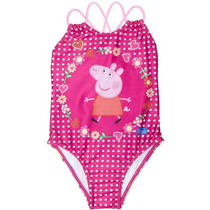 Maiô Patchwork Peppa Pig Tip Top