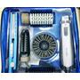 Modeladora Giratoria E Pranchinha Baby Lis Nano Titanium Kit