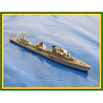 N02 Navio German Destroyers Z20 Galster Escala 1:1250