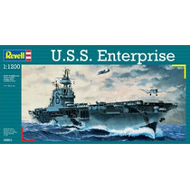 Escala 1/1200 - Porta Aviões Nuclear Carrier Uss Enterprise