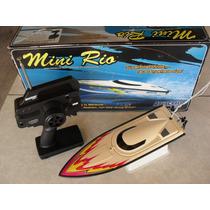Lancha Mini Rio Aquacraft Duratrax. Só Colocar Bateria!!