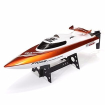 Lancha Racing Flipped Boat 4ch 2.4ghz Rc Rtr Ft009 Controle