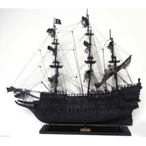 Piratas Do Caribe - Navio Holândes Voador - 100% Madeira