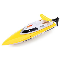 Lancha High Speed Racing Boat 4ch 2.4ghz Rc Ft007 Amarela