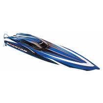 Lancha Traxxas Spartan Tqi Rtr Boat Vxl-6s 57076 Rc