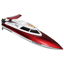 Lancha High Speed Racing Boat 4ch 2.4ghz Rc Ft007 Vermelha