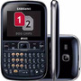 Celular Samsung Chat 226 Duos Anatel Lacrado 2chips 32gb Mp3