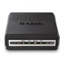 Modem Adsl2+ - D-link - Preto - Dsl-2500e
