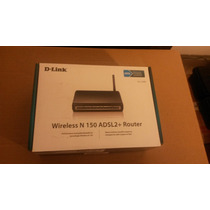 Modem Router Wireless N150 Adsl2 D-link Dsl-2730b