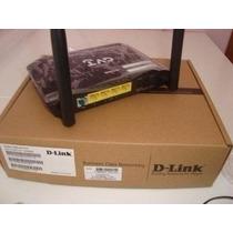 D-link 2740e Modem Adsl + Roteador 4 Portas Wi-fi