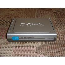 Roteador (modem) Dlink Dsl-500b Segunda Geração