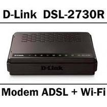 Modem E Roteador Wifi Dlink 2730r