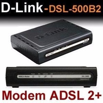 Modem Dsl 500b 500bii Adsl 2/2+d-link, Oi/ Velox/gvt/speedy