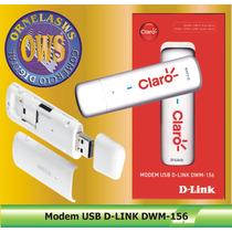 Modem 3g Desb. Usb D-link Dwm-156 - Entrada P/ Antena Rural