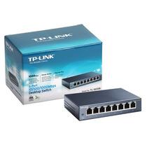 Hub-switch Tp-link Gigabit De Mesa De 8 Portas 10/100/1000