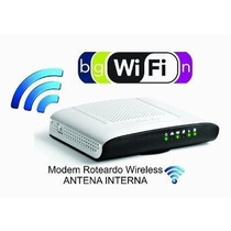 Modem Roteador Wireless Thomson Technicolor Kit 24 Peças