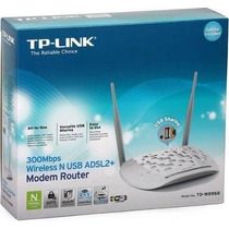Modem Roteador Tp-link Wireless N 300mbps Td-w8968 Usb