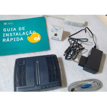 Modem Adsl Tg 508v2 Technocolor Kit Oi Velox Internet