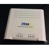 Modem Roteador Adsl Wireless Zte W300 Sem Fonte Envio Grátis
