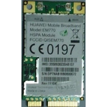 Mini Modem Interno Para Notebook Huawei Em770