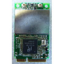 Placa De Rede Wi-fi Msi Mini Pci Express 802.11b/g Ms-6877