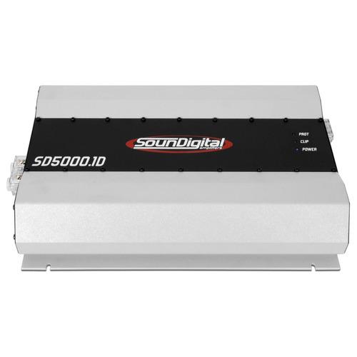 Modulo Amplificador Soundigital Sd5000 + Controle Jfa + Rca