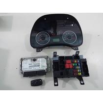 Kit Modulo De Injecao Fiat Idea 1.4 8v 55220193 0261s04790