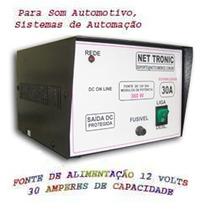 Carregador Fonte 12v-30amp. Estabiliz P/ Módulo Som Bateria