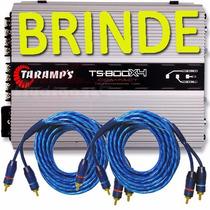 Modulo Amplificador Taramps Ts800 X4 Compact 800w Rms Oferta