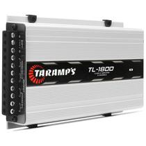 Potencia Taramps Tl 1800 Tl1800 3 Canais 530w Rms Frete Som