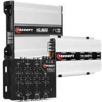 Modulo Taramps Ts 400 + Hd 1600 + Crossover Crx4 + Frete Som
