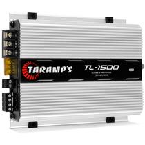 Módulo Amplificador Taramps Tl 1500 390w Rms Rca 2 Ohms 3 Ca