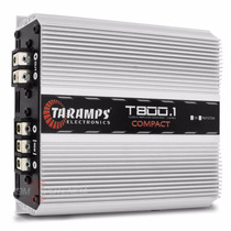 Modulo Taramps T800 1 Canal 800w Rms Compact + Frete Grátis