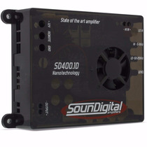 Potencia Automotiva Soundigital Sd400.1 400w + Frete Grátis