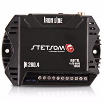 Amplificador Stetsom 280w Rms Ir280.4 2 Ohm Iron Line