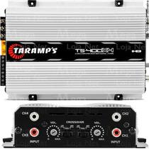 Modulo Taramps Ts400 Digital 4 Canais 400w Rms Mega Loja