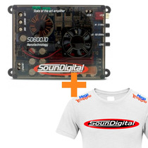 Modulo Soundigital Sd600.1 Sd600 Sd600.1 600w + Camiseta