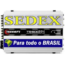 Módulo Amplificador Taramp´s Ts600x4 600w Rms Rca + Sedex