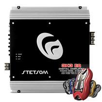 Módulo Amplificador Stetsom 3k3 3300 Watts + Controle Carro