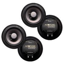 2 Pares De Alto-falantes 6 Pol 200w Rms - Audiophonic Cs650