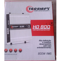 Módulo Amplificador Taramps Hd 800d 800w Rms 1 Canal 2 Ohms