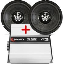 Combo 02 Subwoofer Magnum 15 800 Wrms + Amp. Taramps Hd 1600