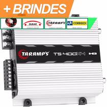 Modulo Taramps T400 Amplificador T 400 4 Canais Frete Gratis