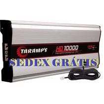 Módulo Amplificador Taramps Hd-10000 10000w Rms + M1 + Sedex