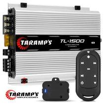 Modulo Amplificador Taramps Tl 1500 + Controle Tlc3000