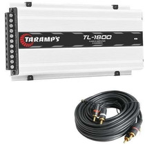 Amplificador Taramps Tl 1800 3 Canais 530w Rms Brinde Rca 5m