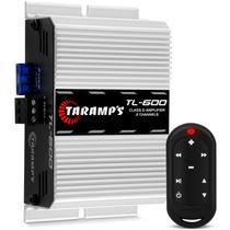 Modulo Amplificador Taramps Tl 600 Mini + Controle Tlc 3000