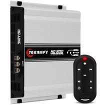 Modulo Taramps Hd 800 2 Ohms + Controle Remoto Tlc 3000