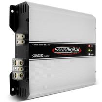Potencia Soundigital Sd1600 Evo 1600w Rms 2 Ohms Modulo Som