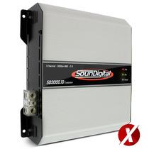 Modulo Soundigital Sd3000d Evolution Paredao Som Automotivo